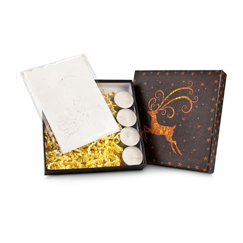 Geschenkset / Präsenteset: Stimmungsvolle Papier-Laternen