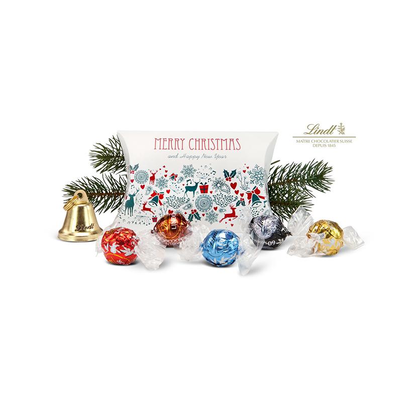 Geschenkartikel / Präsentartikel: Lindor Weihnachtstasche