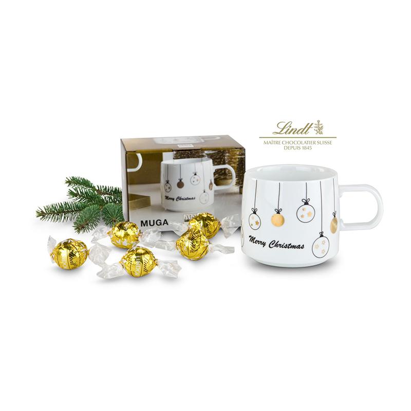 Geschenkset / Präsenteset: Süße Weihnachtstasse