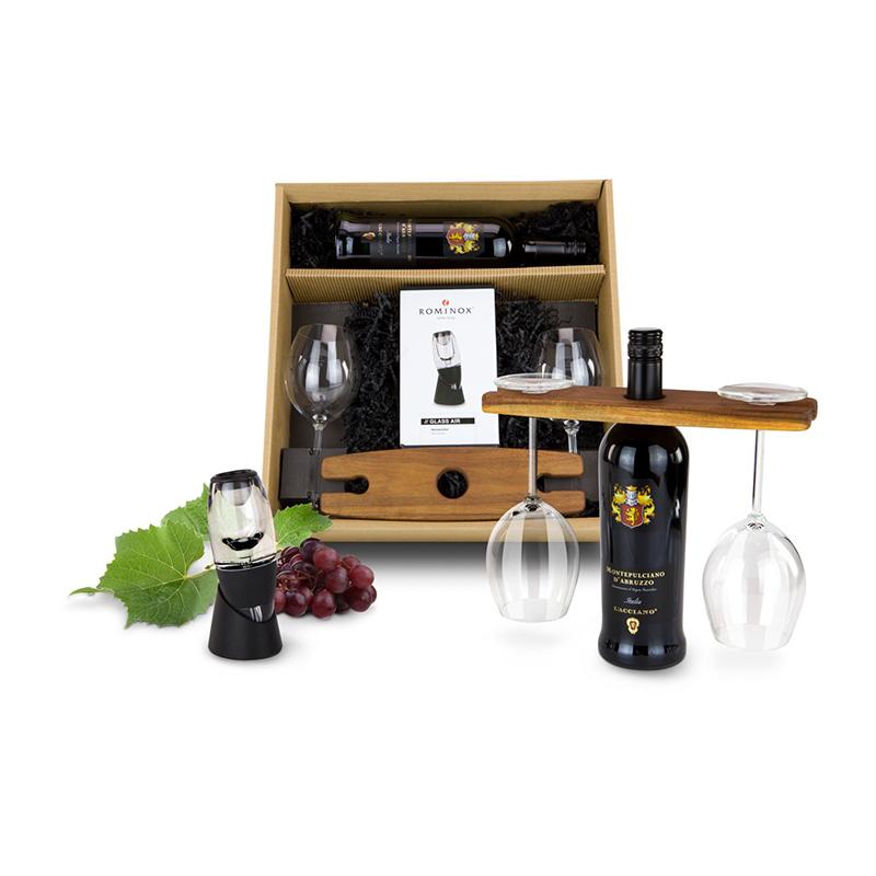 Geschenkset / Präsenteset: Rotwein Deluxe