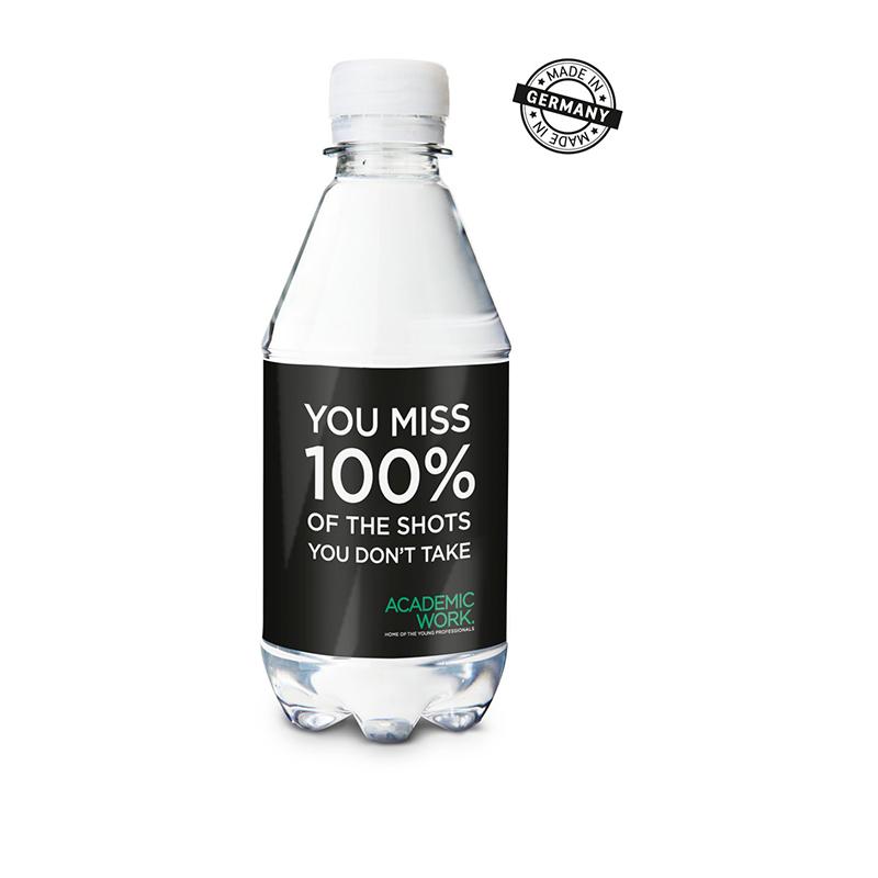 330 ml PromoWater - Mineralwasser, still