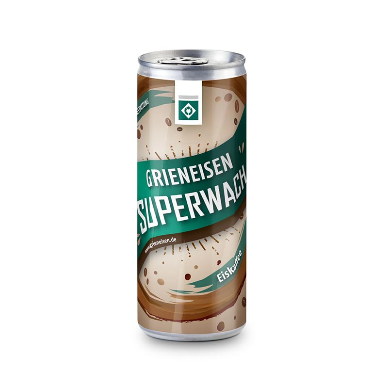 Promo Coffee - Latte Macchiato - Eco Eco Papier-Etikett, 250 ml, pfandfrei