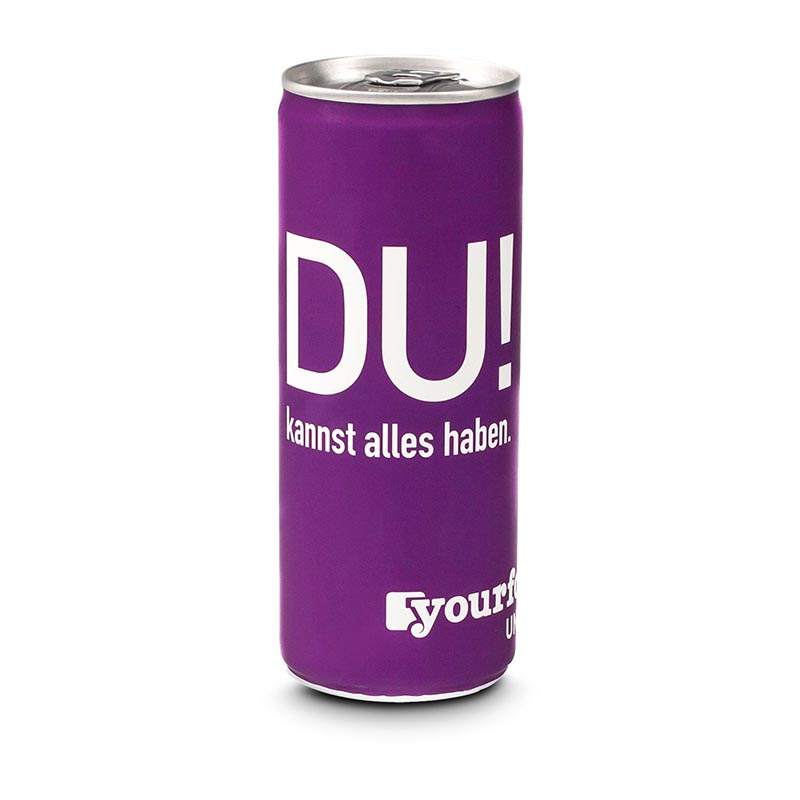 ISO Sport Drink, light - Grapefruit-Zitrone - Fullbody-Etikett, 250 ml