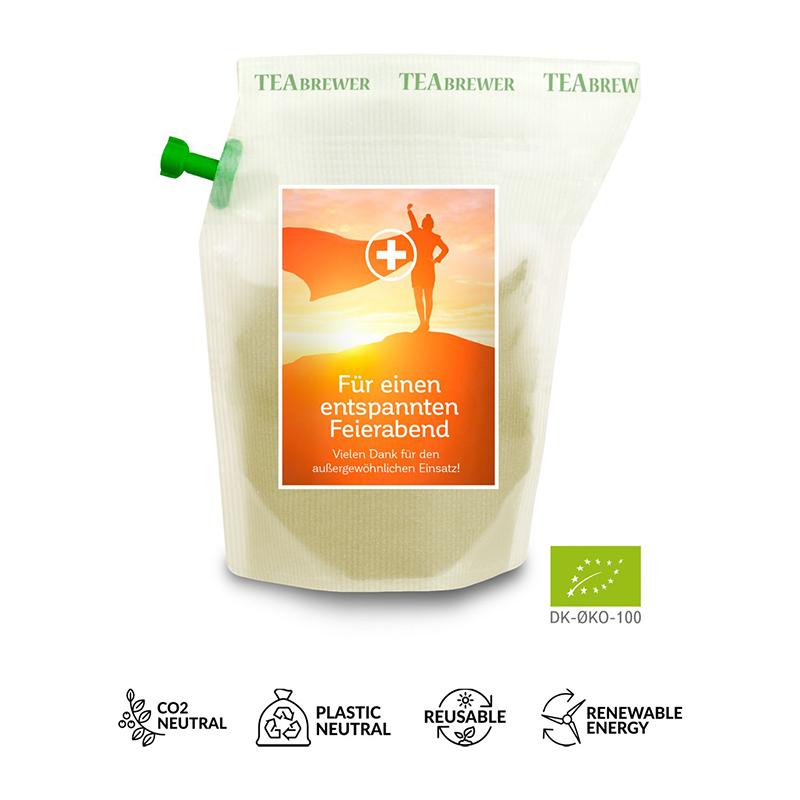 Werbe-Tee Cool-Mint, wiederverwendbarer Brühbeutel