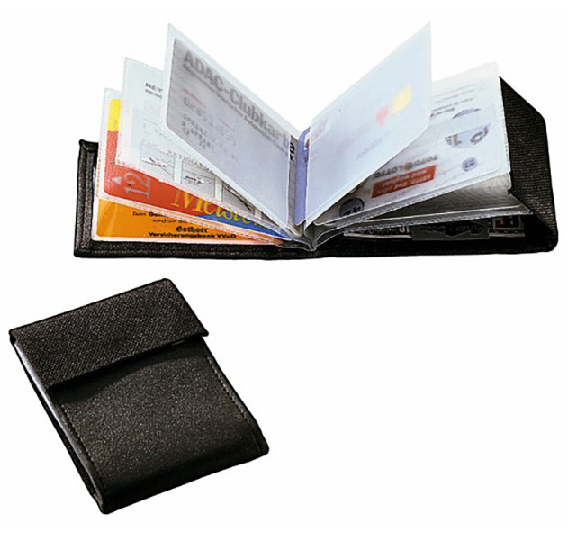 thanxx® Visiten- Scheckkartenetui Card