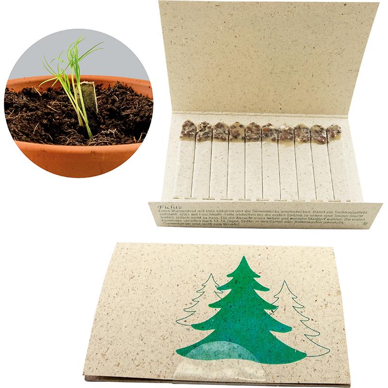 Samen-Booklet Weihnachtsbaum