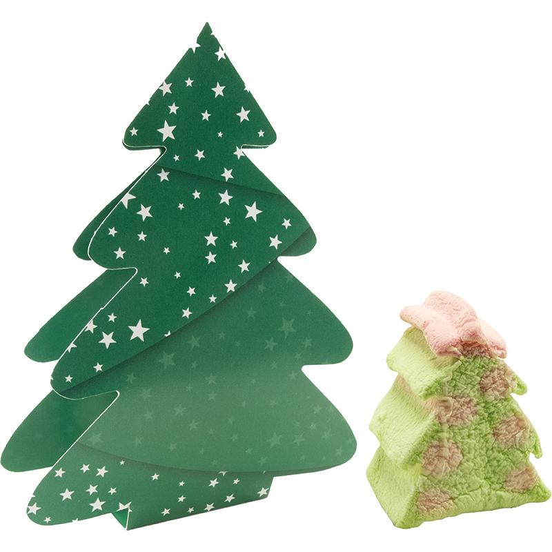 Klappkärtchen Süßer Weihnachtsbaum