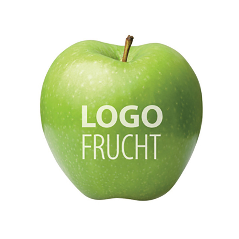 LogoFrucht Apfel grün