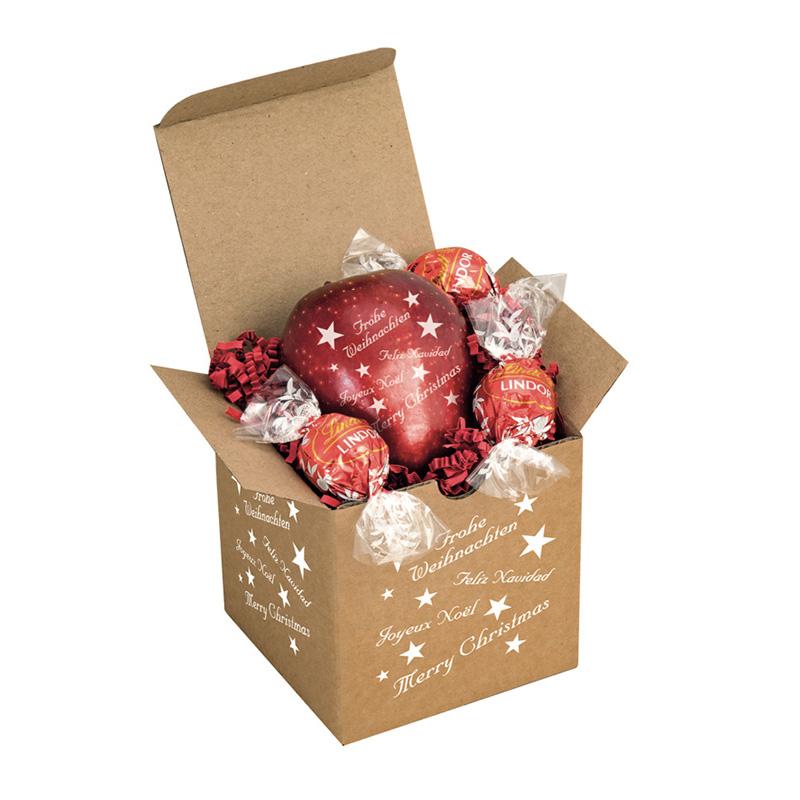 Knackiger Weihnachtsapfel & Lindor