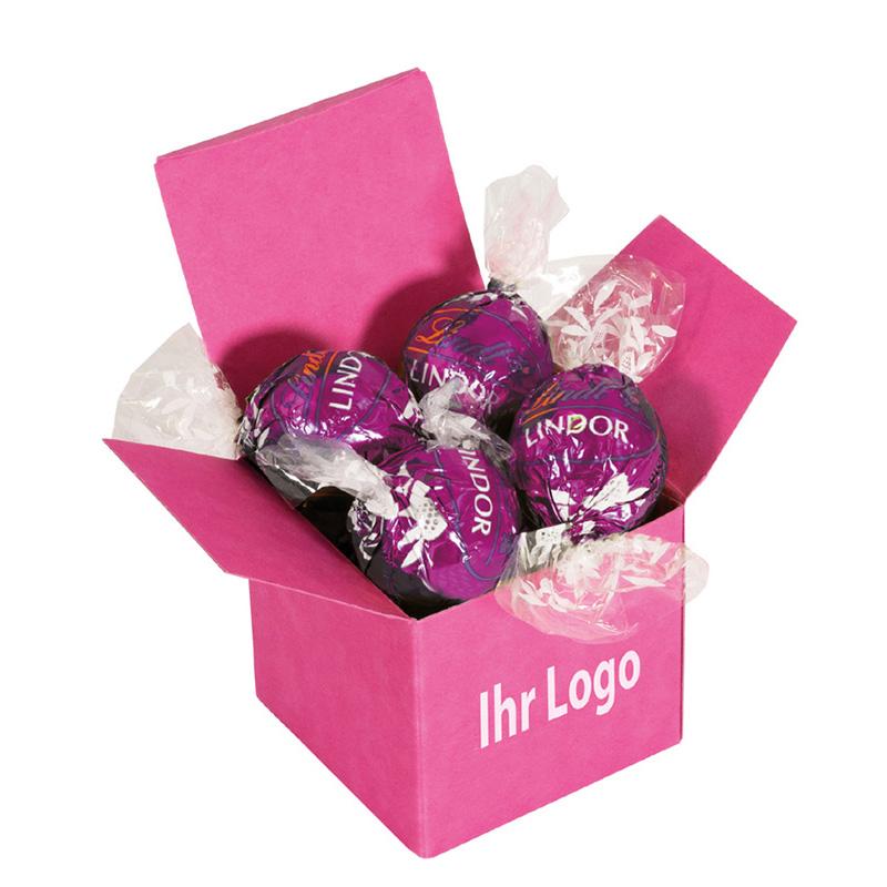 Color Lindor Box Pink Mandel