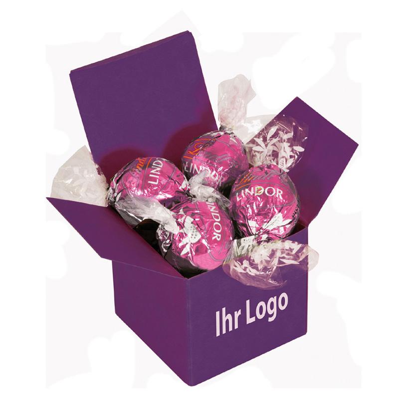 Color Lindor Box Lila Erdbeer