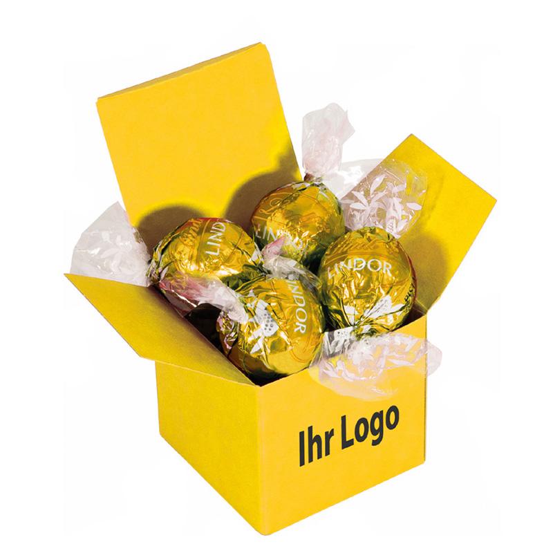 Color Lindor Box Gelb Caramel
