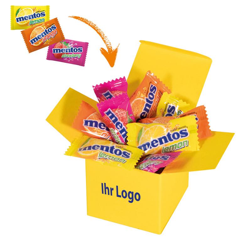 Color Mentos Box Gelb