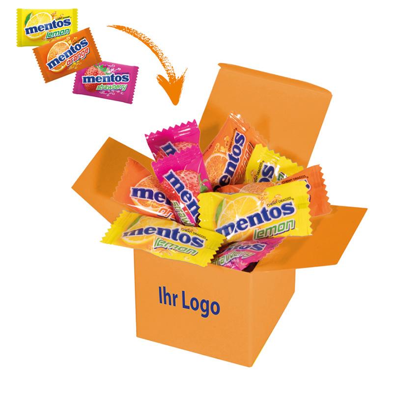 Color Mentos Box Orange