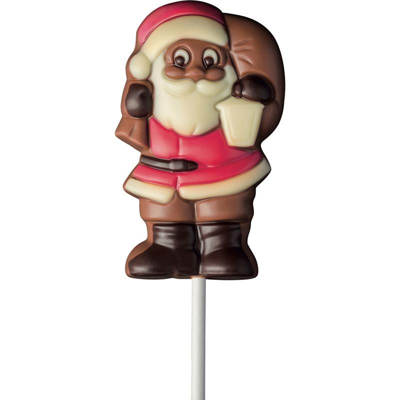 Schoko-Lolli Weihnachtsmann