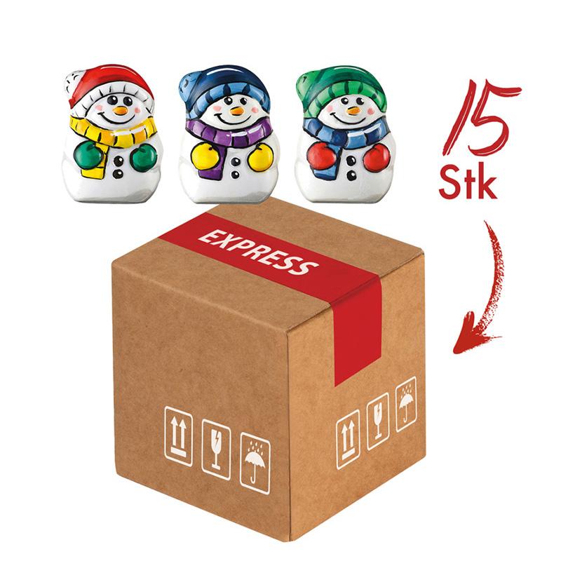 Mini-Cargo Snowmen