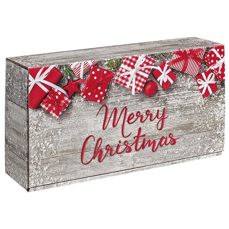 2er Präsentkarton Merry Christmas
