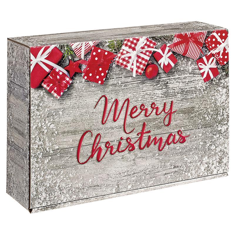 3er Präsentkarton Merry Christmas