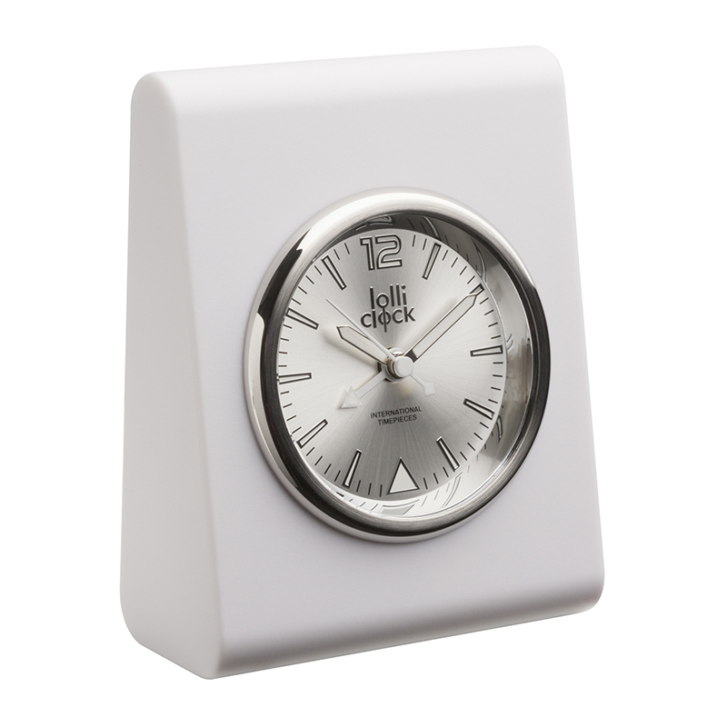Alarmuhr LOLLICLOCK-ALARM WHITE