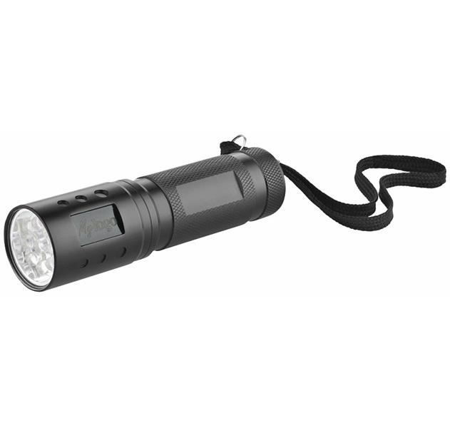 Metmaxx® LED Megabeam Taschenlampe LogoBackLight