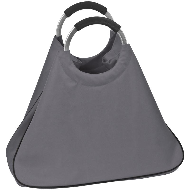 Einkaufstasche aus Polyester mit Henkeln aus Aluminium