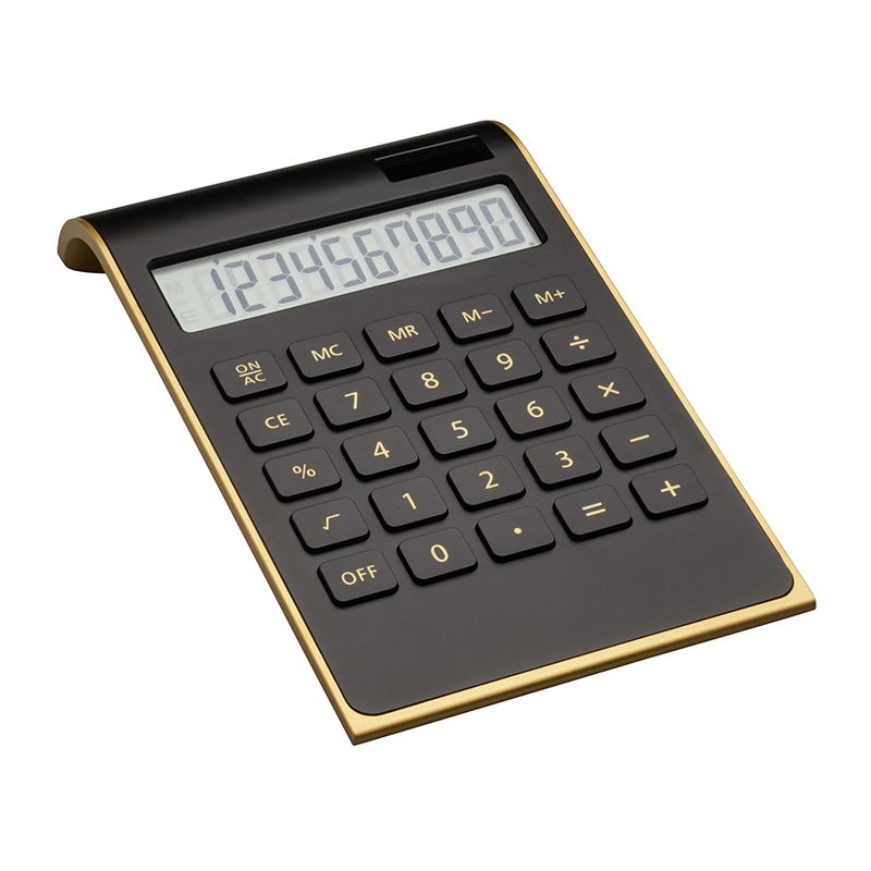 Taschenrechner REEVES-VALINDA BLACK GOLD
