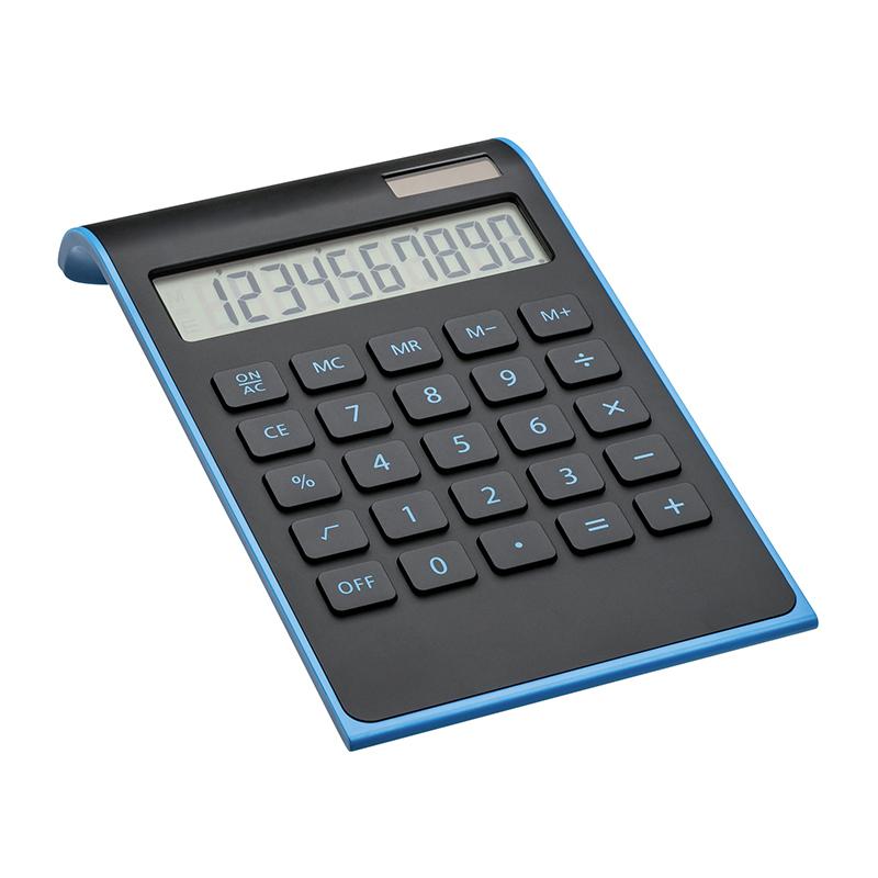 Taschenrechner REEVES-VALINDA BLACK LIGHT BLUE