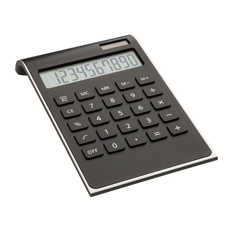 Taschenrechner REEVES-VALINDA BLACK SILVER