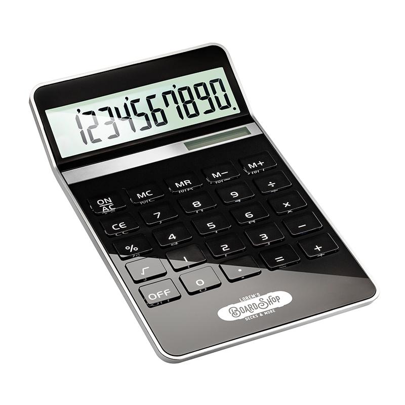 Taschenrechner REEVES-NEAPEL BLACK