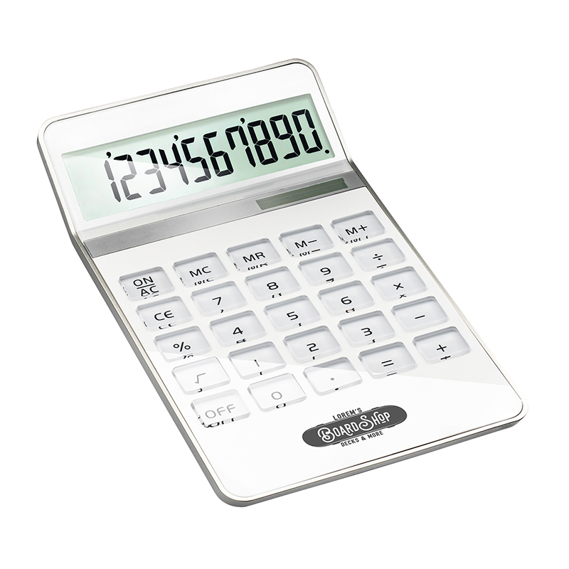 Taschenrechner REEVES-NEAPEL WHITE