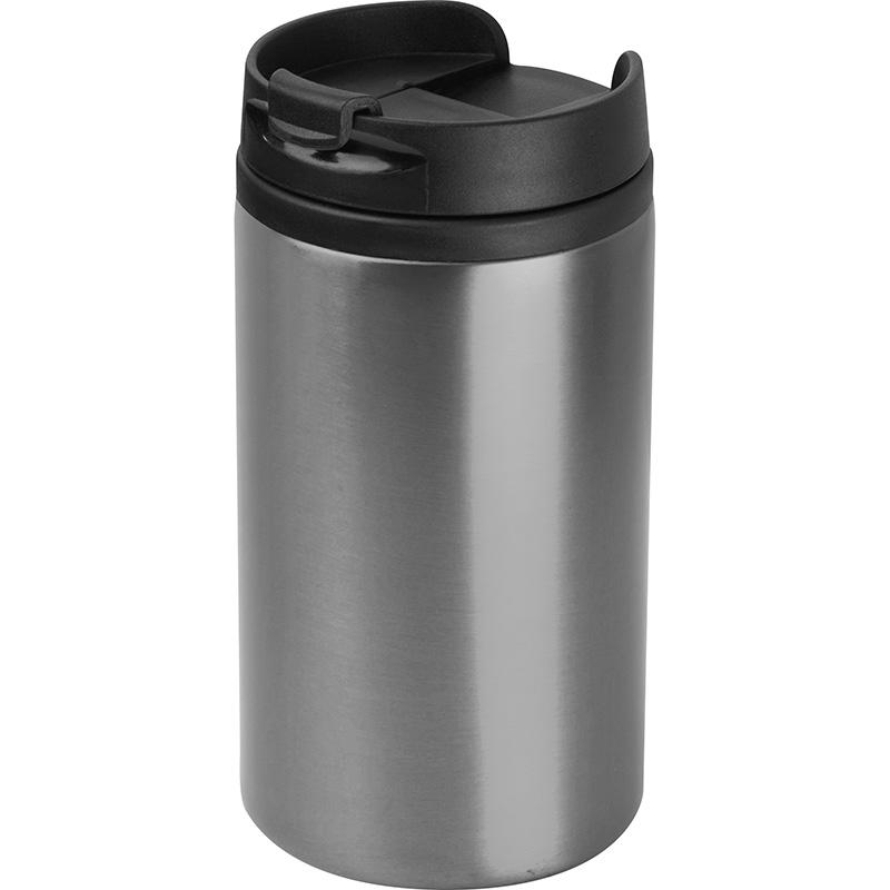 Trinkbecher aus Metall, 250 ml