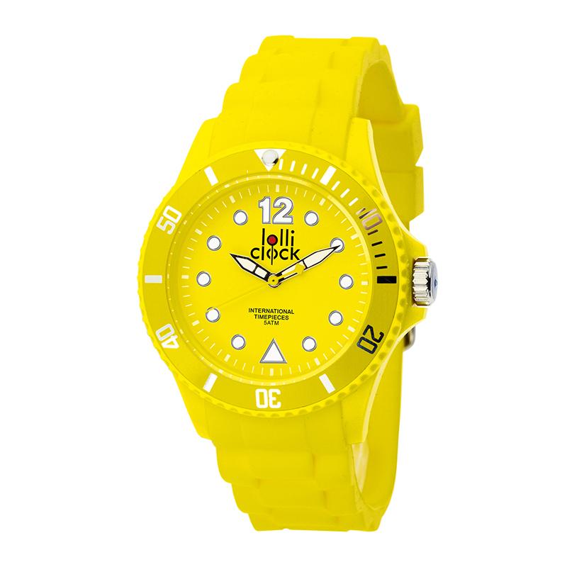 Armbanduhr LOLLICLOCK- YELLOW