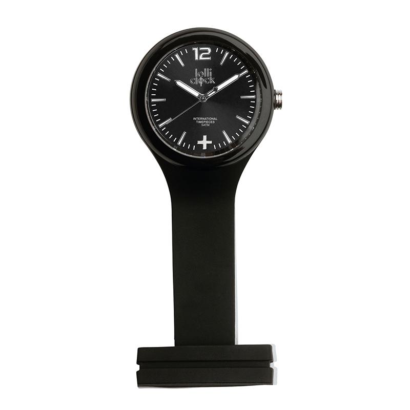 Uhr LOLLICLOCK-CARE BLACK