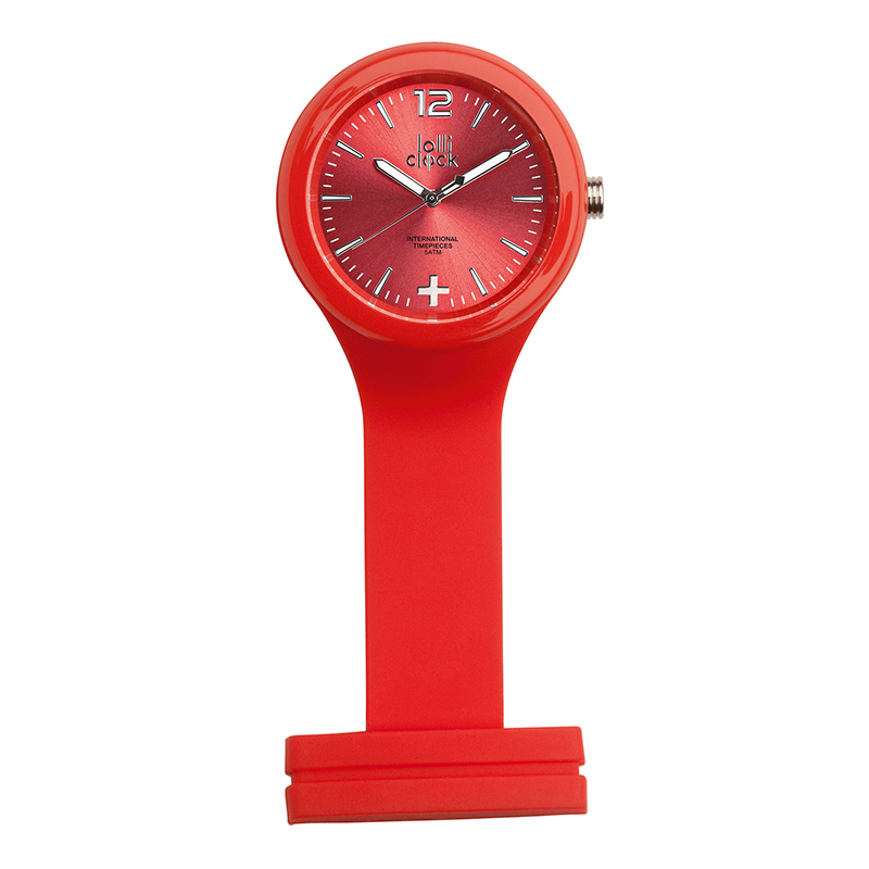 Uhr LOLLICLOCK-CARE RED