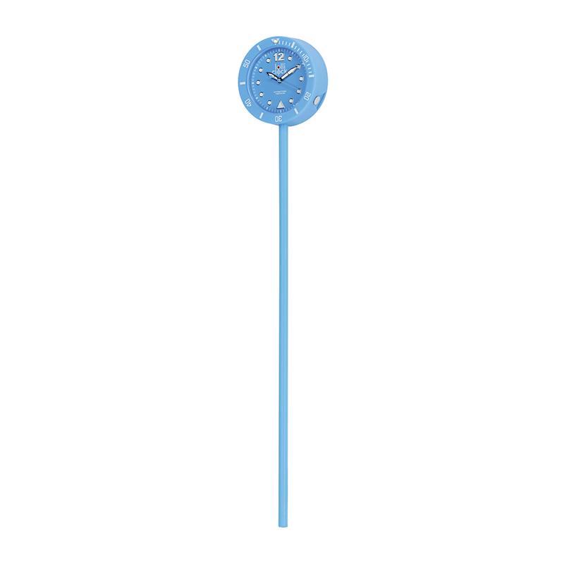 Uhr LOLLICLOCK-CLASSIC LIGHT BLUE