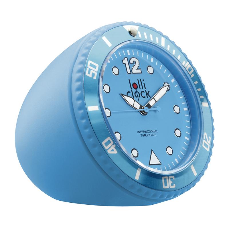 Uhr LOLLICLOCK-ROCK LIGHT BLUE