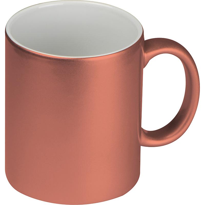 Tasse mit glänzender Ummantelung, 300 ml