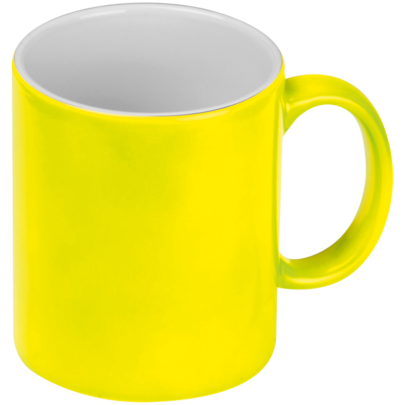 Kaffeetasse in Neonfarben, 300 ml