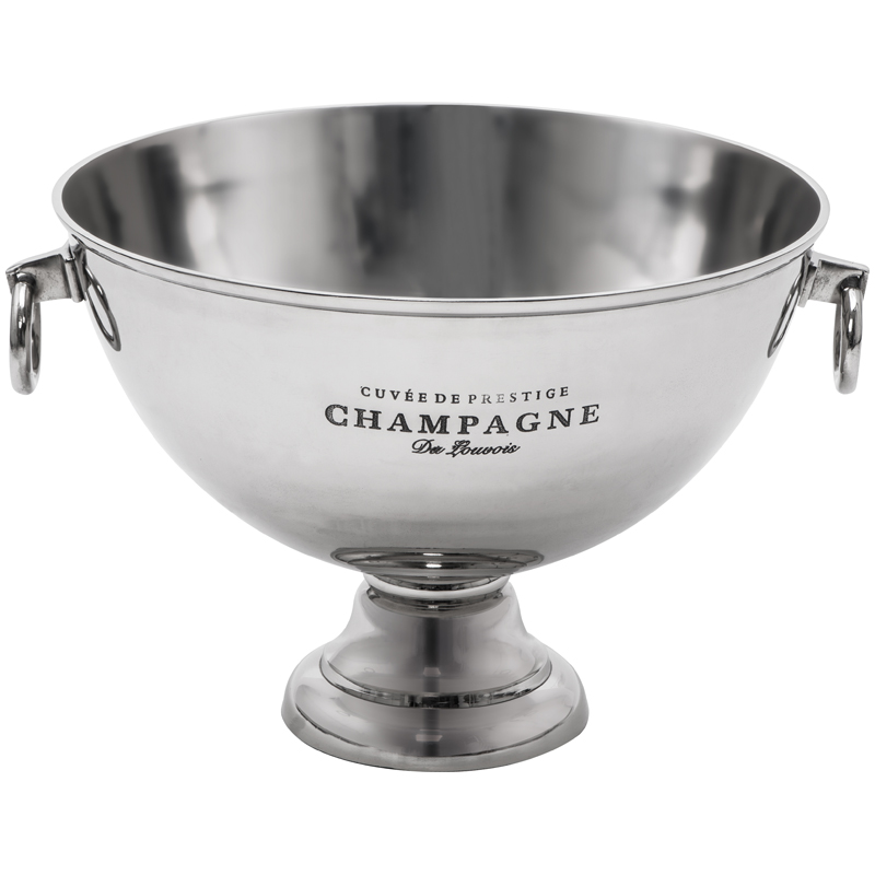 Champagner Kühler aus massiven Metall