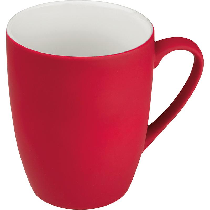 Tasse außen gummiert, 300 ml