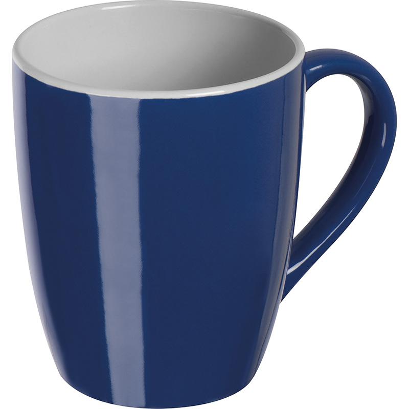 Farbige Tasse aus Keramik, 300 ml