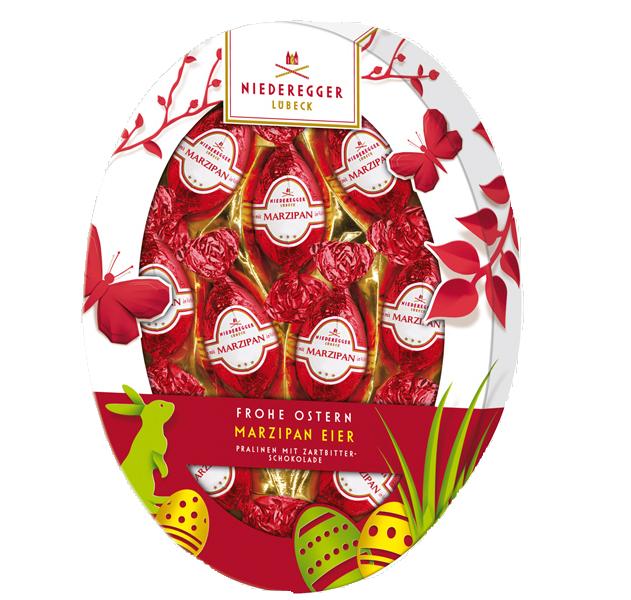 Geschenkpackung Niederegger Marzipan Eier