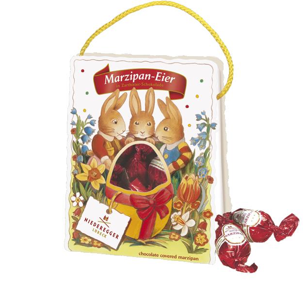 Niederegger Ostertäschchen Marzipan