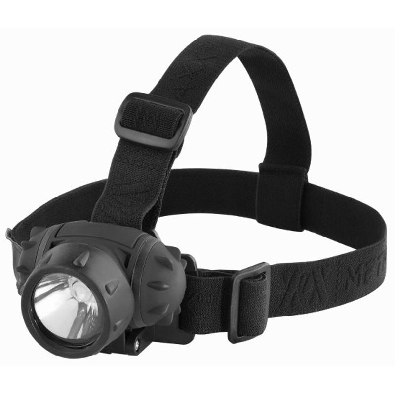 Metmaxx® LED MegaBeam Kopflampe HeadLightSecurityEvo