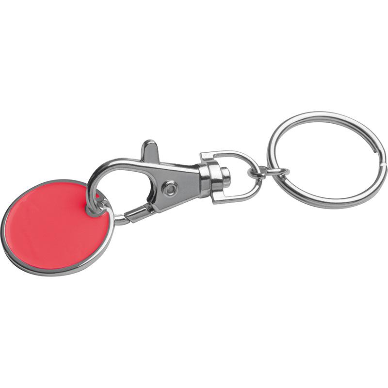 Schlüsselanhänger mit Einkaufschip