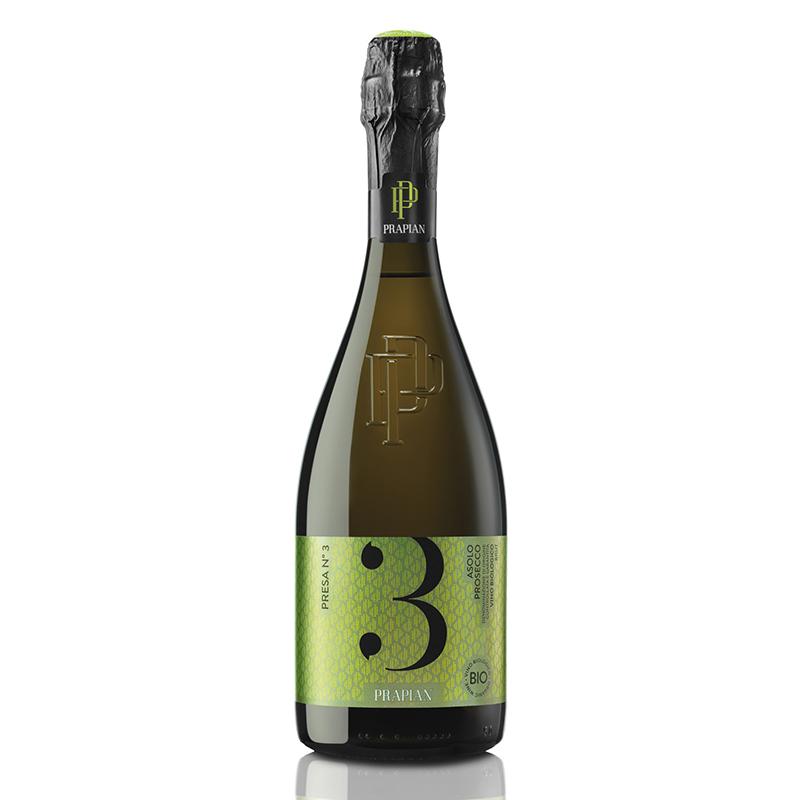 Sacchetto Presa N 3 Prosecco DOCG Vino Biologico Brut