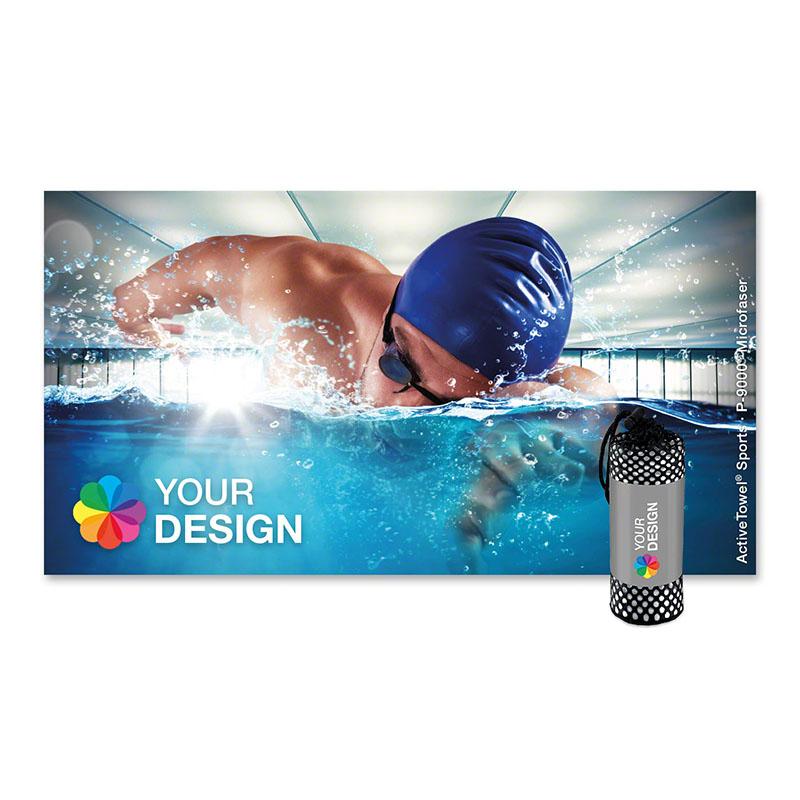 ActiveTowel® Sports Microfaser-Sporthandtuch 130x70 cm