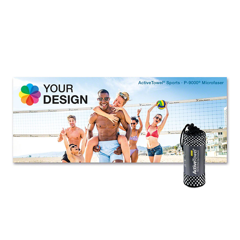 ActiveTowel® Sports Microfaser-Sporthandtuch 180x70 cm
