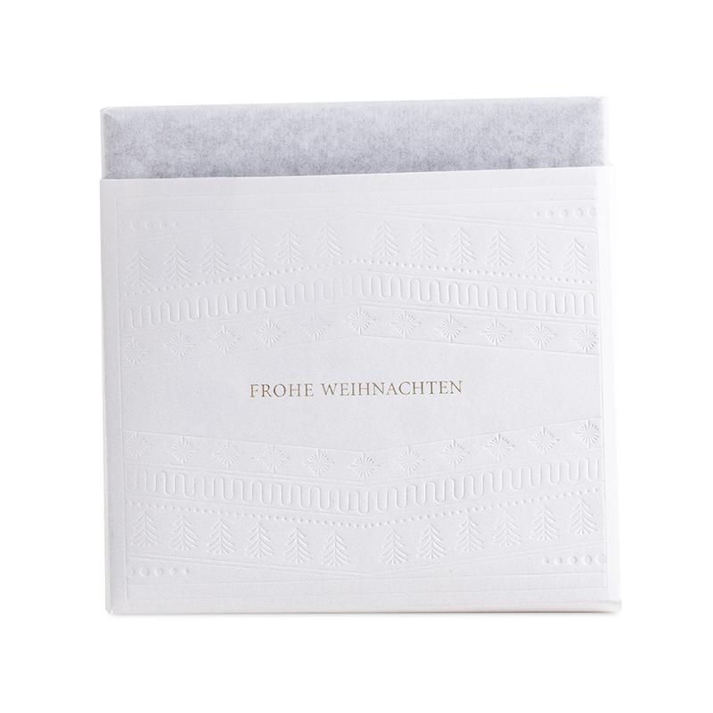 Berger Schokoladentafel Vollmilch Frohes Fest