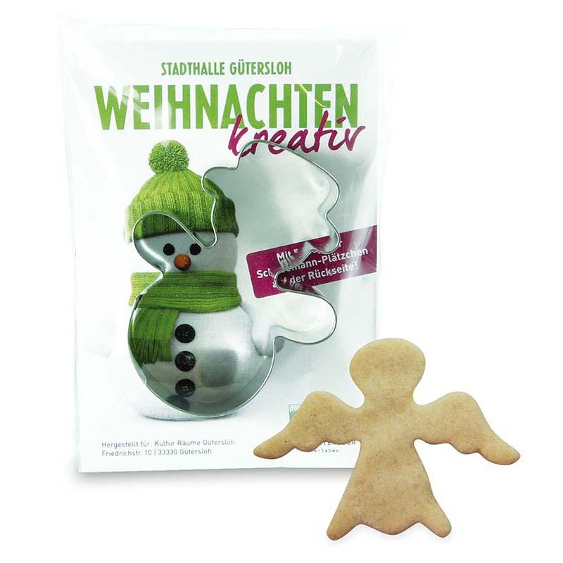 Backförmchen-Winter in der Werbetüte